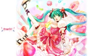 Rating: Safe Score: 11 Tags: hatsune_miku onei-akira thighhighs vocaloid wallpaper User: charunetra