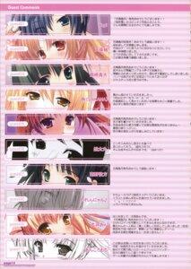 Rating: Safe Score: 15 Tags: amakusa_tobari ankoromochi index_page inugahora_an kachoufuugetsu karen-nyan katsuragi_sayuri kirarazaka_kaede kotamaru minamino_kanata ninoko sakana sakuramori_anzu silver_bullet takatsukasa_sumire_alexandra tsurusaki_takahiro yuyi User: aiur