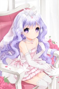 Rating: Safe Score: 62 Tags: dress juna sword_girls thighhighs wedding_dress User: blooregardo