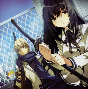 Rating: Safe Score: 16 Tags: gun ress seifuku sword User: MirrorMagpie