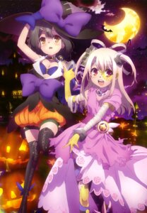 Rating: Questionable Score: 110 Tags: bandages bloomers cleavage cosplay dress fate/kaleid_liner_prisma_illya fate/stay_night halloween illyasviel_von_einzbern miyu_edelfelt thighhighs ushijima_nozomi witch User: drop