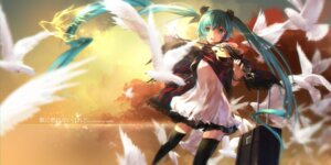 Rating: Safe Score: 45 Tags: dress hatsune_miku swd3e2 thighhighs vocaloid User: Mr_GT