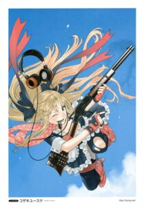 Rating: Safe Score: 17 Tags: gun headphones kozaki_yuusuke User: Aurelia