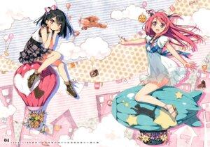 Rating: Safe Score: 90 Tags: calendar dress kantoku kurumi_(kantoku) shizuku_(kantoku) User: Hatsukoi
