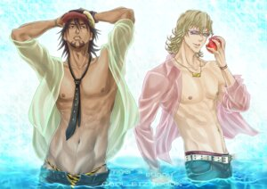 Rating: Safe Score: 2 Tags: barnaby_brooks_jr hiramayu kaburagi_t_kotetsu male megane tiger_&_bunny User: charunetra