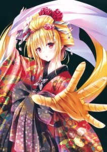 Rating: Safe Score: 62 Tags: golden_darkness kimono to_love_ru to_love_ru_darkness yabuki_kentarou User: Twinsenzw