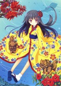 Rating: Questionable Score: 40 Tags: kimono nanao_naru User: Twinsenzw