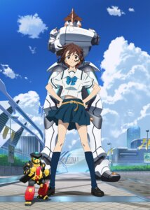 Rating: Safe Score: 36 Tags: mecha robotics;notes seifuku senomiya_akiho User: Devard