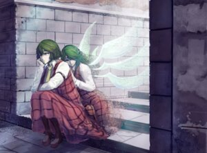 Rating: Safe Score: 12 Tags: kazami_yuuka kazami_yuuka_(classic) kikimifukuri pantyhose touhou wings User: Mr_GT