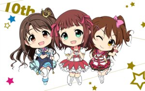 Rating: Safe Score: 28 Tags: amami_haruka chibi heels kasuga_mirai mycstea shimamura_uzuki the_idolm@ster the_idolm@ster_cinderella_girls User: fairyren