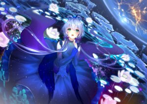 Rating: Safe Score: 35 Tags: catcan dress luo_tianyi see_through vocaloid wings User: Mr_GT