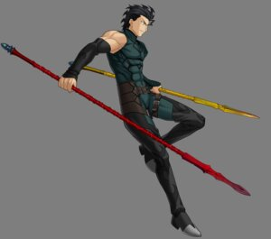 Rating: Safe Score: 5 Tags: fate/stay_night fate/unlimited_codes lancer_(fate/zero) male transparent_png weapon User: Yokaiou