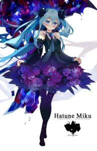 Rating: Safe Score: 54 Tags: dress hatsune_miku kawai_(purplrpouni) pantyhose vocaloid User: Mr_GT