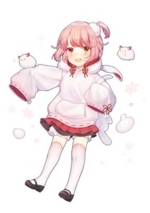 Rating: Safe Score: 10 Tags: bloomers food_fantasy heels ion_(on01e) tagme thighhighs User: BattlequeenYume
