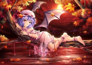 Rating: Safe Score: 69 Tags: remilia_scarlet tid touhou wings User: Shamensyth