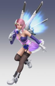 Rating: Safe Score: 16 Tags: alisa_boskonovich cg heels tekken tekken_6 thighhighs wings User: charunetra