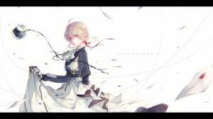 Rating: Safe Score: 25 Tags: dress mecha_musume mokoppe skirt_lift violet_evergarden violet_evergarden_(character) User: charunetra