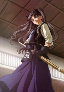 Rating: Safe Score: 34 Tags: armor fate/stay_night ishii_kumi sword toosaka_rin User: Aurelia