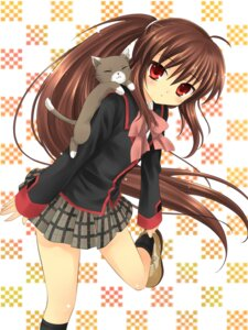 Rating: Safe Score: 28 Tags: hanabana_tsubomi little_busters! natsume_rin neko seifuku User: charunetra