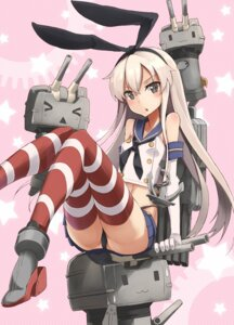 Rating: Questionable Score: 36 Tags: kantai_collection pantsu rensouhou-chan shimakaze_(kancolle) thighhighs yashiro_(silver_will) User: tbchyu001