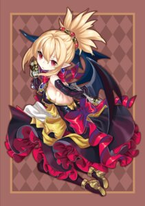 Rating: Safe Score: 34 Tags: disgaea disgaea_2 dress erect_nipples heels kikimi no_bra pointy_ears rozalin wings User: Mr_GT