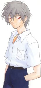 Rating: Safe Score: 5 Tags: male nagisa_kaworu neon_genesis_evangelion User: Radioactive