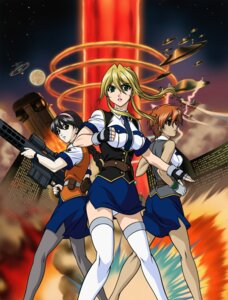 Rating: Safe Score: 5 Tags: burn-up_scramble jingu_maya kinezono_rio lilica_evett User: Radioactive