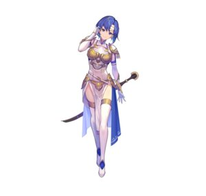 Rating: Questionable Score: 18 Tags: armor catria dress fire_emblem fire_emblem_echoes fire_emblem_heroes kakage nintendo sword thighhighs User: fly24