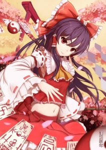 Rating: Safe Score: 25 Tags: hakurei_reimu miko sarashi sugar_sound touhou User: charunetra