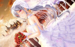 Rating: Safe Score: 55 Tags: dress girlfriend_(kari) masa_(mirage77) tagme wallpaper wedding_dress User: Mr_GT