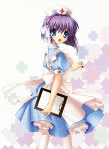 Rating: Safe Score: 29 Tags: clannad fujibayashi_ryou hinoue_itaru nurse User: Kalafina