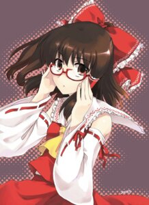 Rating: Safe Score: 5 Tags: hakurei_reimu megane misaki_juri touhou User: Radioactive