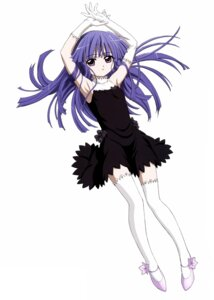 Rating: Safe Score: 39 Tags: dress furude_rika higurashi_no_naku_koro_ni sakai_kyuuta thighhighs User: Radioactive