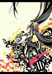 Rating: Safe Score: 4 Tags: hatsune_miku karasu_(chalk) vocaloid User: charunetra