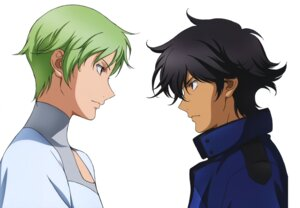 Rating: Safe Score: 3 Tags: gundam gundam_00 male ribbons_almark setsuna_f_seiei suzuki_tatsuya User: Radioactive