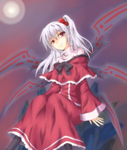 Rating: Safe Score: 7 Tags: shinki shintani_masaki touhou wings User: itsu-chan