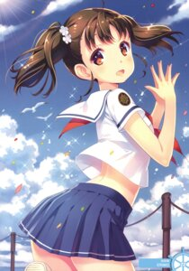 Rating: Safe Score: 53 Tags: high_school_fleet nishimura_eri seifuku shiretoko_rin User: Twinsenzw