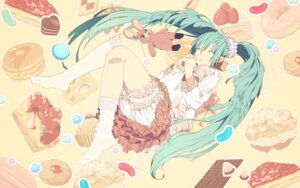 Rating: Safe Score: 23 Tags: hatsune_miku honya_lala lots_of_laugh_(vocaloid) vocaloid User: anaraquelk2