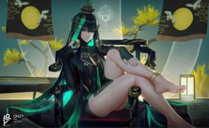Rating: Safe Score: 40 Tags: asian_clothes feet punishing:_gray_raven qu_(punishing:_gray_raven) zhehewofu_huayou_shemeguanx User: BattlequeenYume