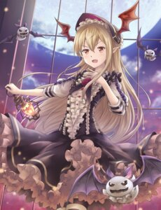 Rating: Safe Score: 34 Tags: asakurashinji granblue_fantasy pointy_ears vampy_(granblue_fantasy) wings User: Mr_GT