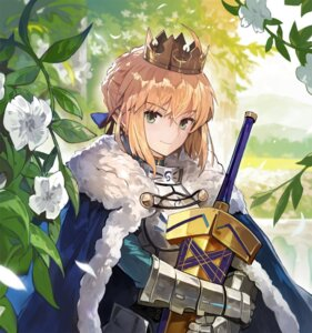 Rating: Safe Score: 41 Tags: alchemaniac armor fate/grand_order saber sword User: nphuongsun93
