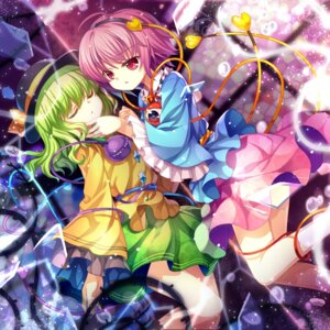 Rating: Safe Score: 16 Tags: capura.l komeiji_koishi komeiji_satori touhou User: Mr_GT