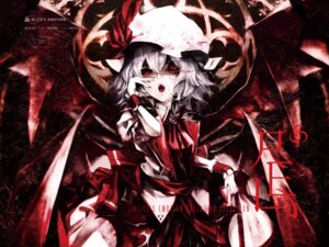 Rating: Safe Score: 29 Tags: banpai_akira remilia_scarlet touhou wallpaper wings User: Kaliumcyanid