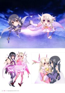 Rating: Safe Score: 23 Tags: fate/kaleid_liner_prisma_illya fate/stay_night heels illyasviel_von_einzbern miyu_edelfelt thighhighs weapon User: drop