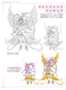 Rating: Questionable Score: 5 Tags: dress heels houjou_hibiki pretty_cure sketch suite_pretty_cure takahashi_akira thighhighs wings User: drop