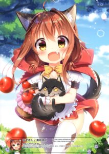 Rating: Safe Score: 13 Tags: animal_ears little_red_riding_hood_(character) tagme tail thighhighs User: kiyoe