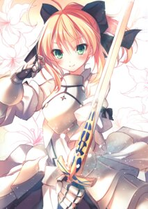 Rating: Safe Score: 17 Tags: alicesyndrome* armor dress fate/grand_order saber saber_lily sword toosaka_asagi User: kiyoe