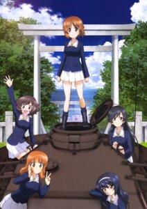 Rating: Safe Score: 16 Tags: akiyama_yukari girls_und_panzer isuzu_hana nishizumi_miho reizei_mako takebe_saori uniform User: drop