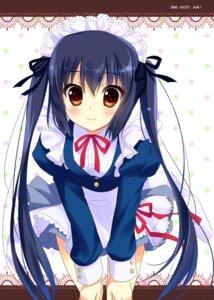 Rating: Safe Score: 57 Tags: ame_to_yuki k-on! maid nakano_azusa User: blooregardo