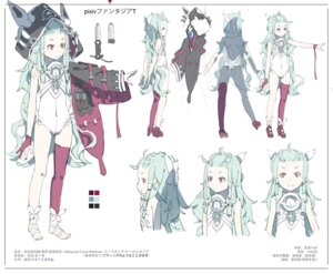 Rating: Questionable Score: 17 Tags: character_design el-zheng feet heels leotard thighhighs User: KazukiNanako